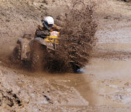 The driver ATV Royalty Free Stock Photography