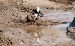 The driver ATV Royalty Free Stock Photos