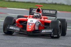 Driver Aurelien Panis.  Formula V8 3.5 Royalty Free Stock Photos