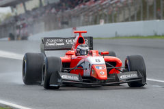 Driver Aurelien Panis. Formula V8 3.5 Stock Photos
