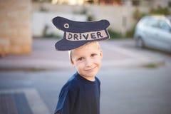 Driver boy Stock Photos