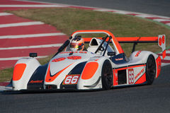 Driver Brian CAUDWELL. RADICAL EUROPEAN MASTERS. Royalty Free Stock Photography