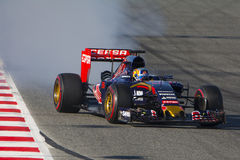 Driver Carlos Sainz. Team Toro Rosso Stock Photography