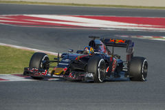 Driver Carlos Saiz . Team Toro Rosso Royalty Free Stock Photo
