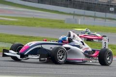 Driver Casper Roes.  Championnat de France F4 Stock Photo