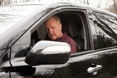 Driver con esperienza Fotografia Stock Libera da Diritti