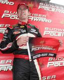 Driver Csrd Edwards di NASCAR fotografia stock