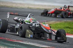 Driver Damiano Fioravanti. Euroformula Open Stock Image