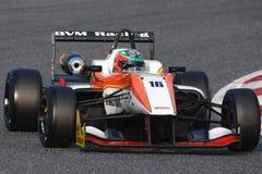 Driver Damiano FIORAVANTI. Euroformula Open. Stock Image