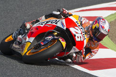 Driver Dani Pedrosa. Repsol Honda Team Stock Photos