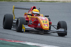 Driver Daniel Harout. Challenge formula Royalty Free Stock Images