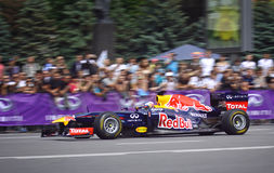 Driver Daniel Ricciardo of Red Bull Racing Team Royalty Free Stock Photos