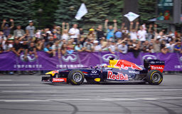 Driver Daniel Ricciardo of Red Bull Racing Team Royalty Free Stock Photo