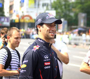 Driver Daniel Ricciardo of Red Bull Racing Team Stock Photo