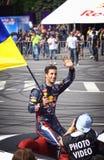 Driver Daniel Ricciardo of Red Bull Racing Team Royalty Free Stock Photo