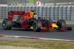 Driver Daniel Ricciardo. Team Red Bull Racing Stock Photos