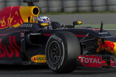 Driver Daniel Ricciardo. Team Red Bull Racing Royalty Free Stock Photo