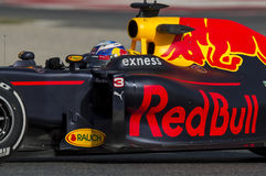 Driver Daniel Ricciardo.  Team Red Bull Racing Stock Photo