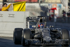 Driver Daniil Kvyat Team Red Bull Immagini Stock