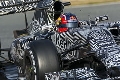 Driver Daniil Kvyat. Team Red Bull F1 Royalty Free Stock Images