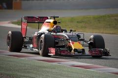 Driver Daniil Kvyat.  Team Red Bull Racing Stock Image