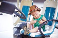 Driver del bambino immagini stock