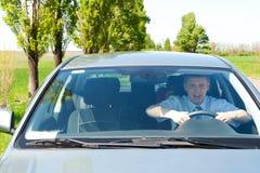 Driver del debuttante immagini stock