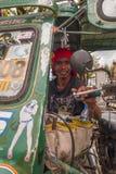 Driver del triciclo Fotografie Stock Libere da Diritti