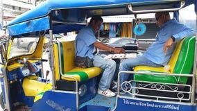 Driver del tuk di Tuk Fotografia Stock