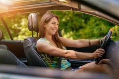 Driver della donna immagini stock libere da diritti