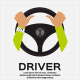 Driver design element Stock Photography