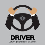Driver design element Stock Photo