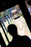 Driver di automobile della via della st Charles di New Orleans Immagini Stock