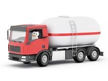 Driver di consegna del cilindro del pinguino GPL Fotografie Stock