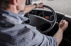 Driver di industria del trasporto immagini stock libere da diritti