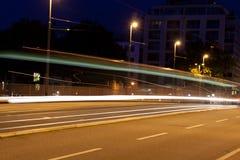Driver di notte Fotografia Stock