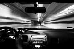 Driver di notte Immagini Stock