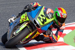 Driver Diego Perez. Team Griful. FIM CEV Repsol Royalty Free Stock Photo