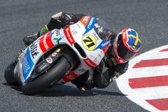 Driver Duerlund, Pontus. Moto3. Bullit Team. FIM CEV Repsol Stock Photos