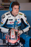 Driver Edgar Pons. Team RacingPons. FIM CEV Repsol Royalty Free Stock Photography