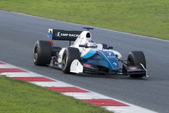 Driver Egor Orudzhev. Formula V8 3.5 Royalty Free Stock Photos