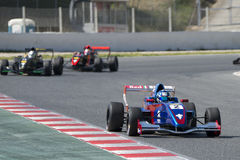 Driver Erwin Creed Gruppo del Motorsport di formula immagini stock libere da diritti