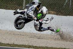 Driver EUGENE LAVERTY. ASPAR MotoGP TEAM. Stock Image