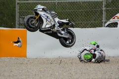 Driver EUGENE LAVERTY. ASPAR MotoGP TEAM Stock Photos