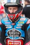 Driver Fabio Quartararo Team Estrella Galicia Immagini Stock Libere da Diritti