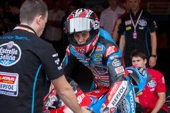 Driver Fabio Quartararo. Team Estrella Galicia. Stock Images