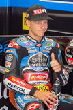 Driver Fabio Quartararo. Team Estrella Galicia Royalty Free Stock Photo