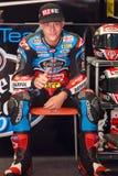 Driver Fabio Quartararo Team Estrella Galicia FIM CEV Fotografia Stock
