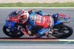 Driver Fabio Quartararo Team Estrella Galicia FIM CEV Repsol Fotografia Stock