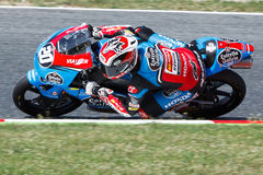 Driver Fabio Quartararo. Team Estrella Galicia. FIM CEV Repsol Royalty Free Stock Photo